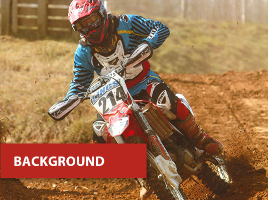 background - dirt bike