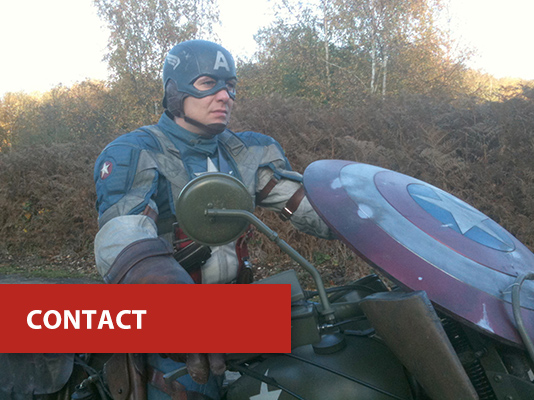 contact - Captain America