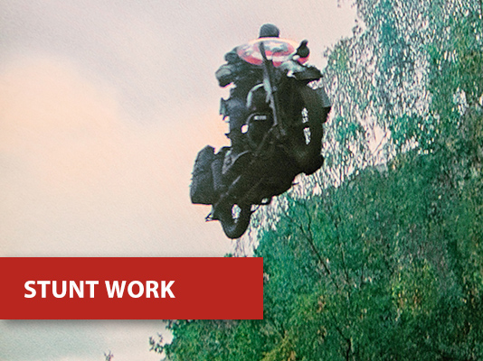 stunt work - Captain America